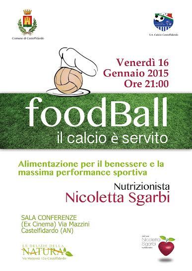 """""""food Ball"""" il calcio è servito"""
