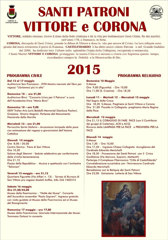 Festa dei Santi Patroni Vittore e Corona