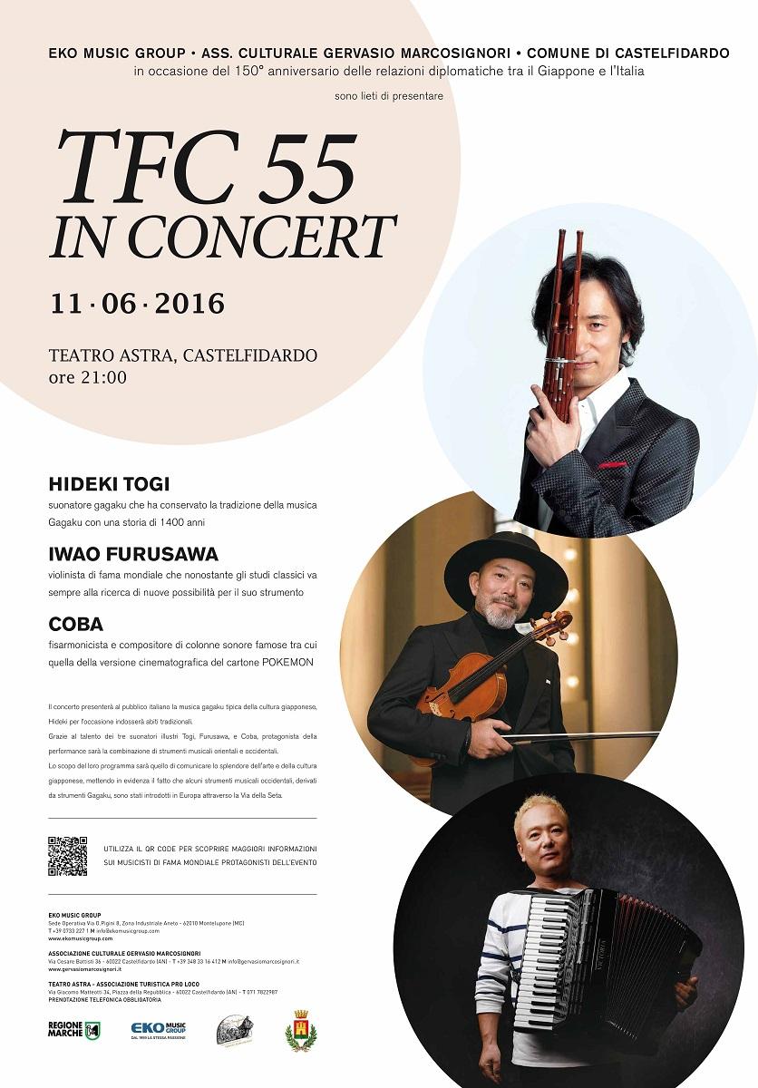 TFC 55 in concert