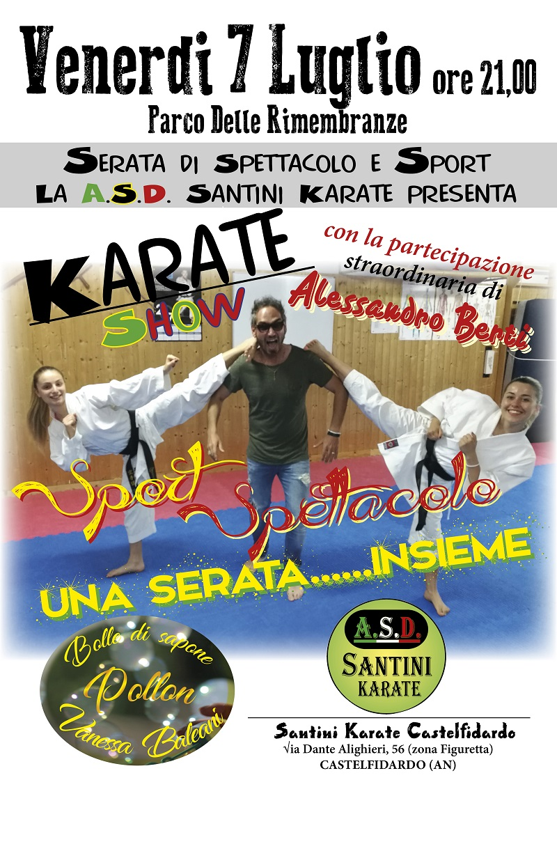 Karate show – Sport spettacolo