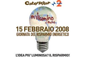 M'Illumino di Meno - Giornata del risparmio energetico