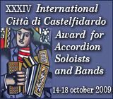 XXXIV Concorso e Premio Internazionale per Fisarmonica