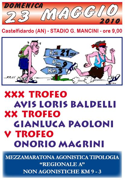 XXX Trofeo AVIS L. Baldelli - Mezza Maratona Agonistica