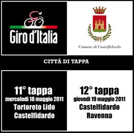 Giro d`Italia  11^ e 12^ tappa a Castelfidardo