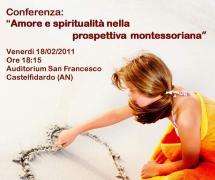 """""""Amore e spiritualità nella prospettiva montessiorana"""""""
