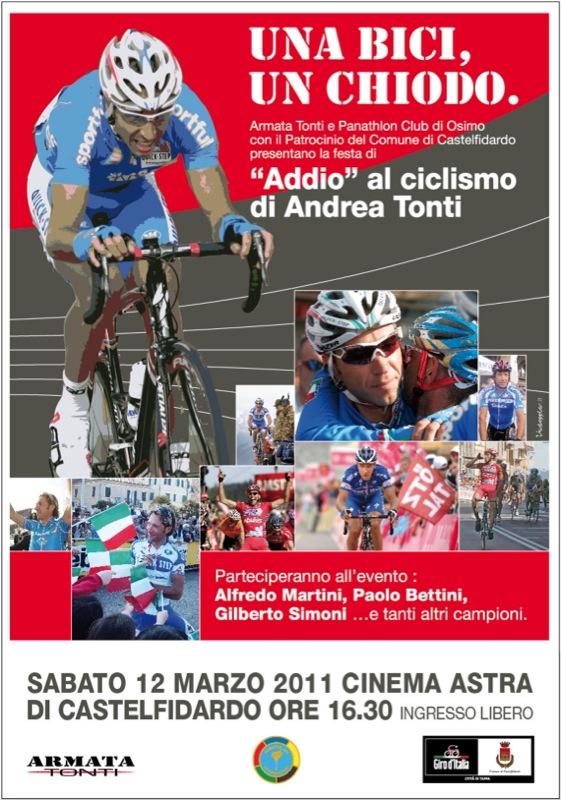 """Una bici, un chiodo. """"Addio"""" al Ciclismo di Andrea Tonti"""