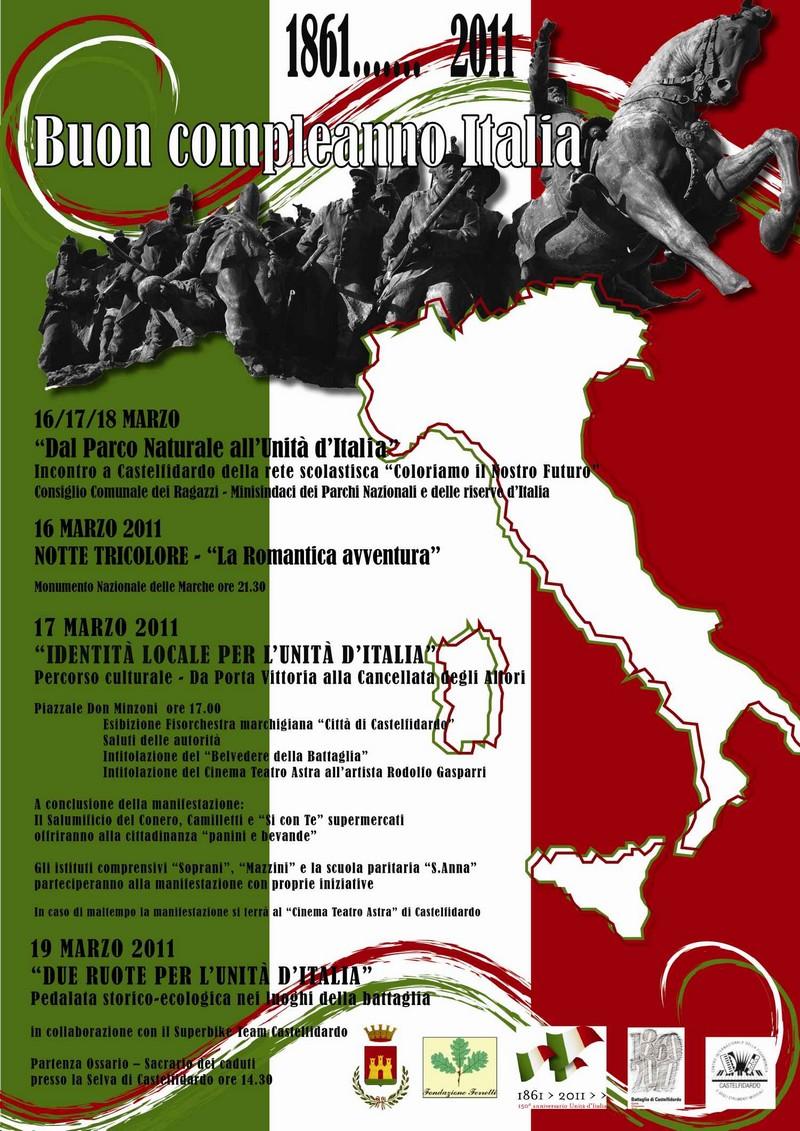 150° anniversario dell`Unità d`Italia