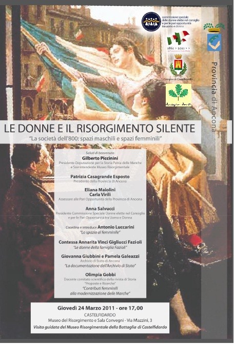 """""""Le donne e il Risorgimento silente"""""""
