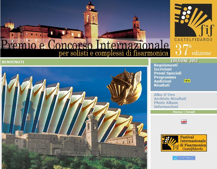37° Premio e Concorso Internazionale di Fisarmonica