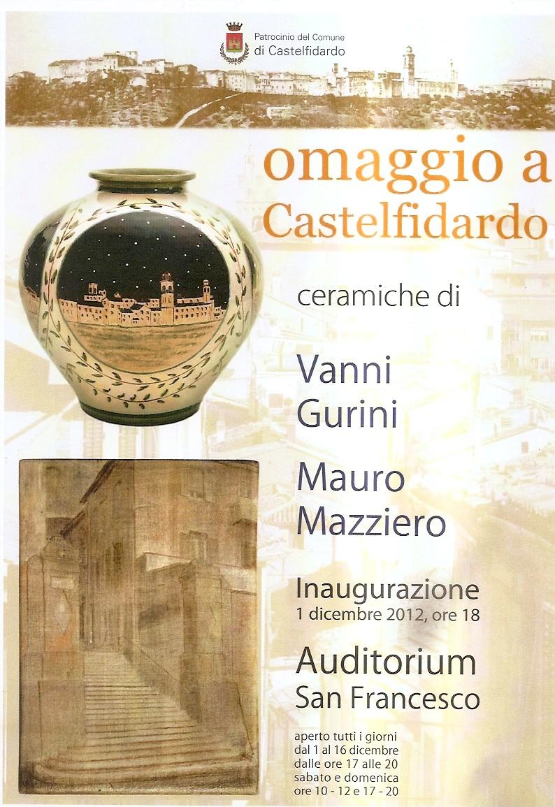 Omaggio a Castelfidardo - Mostra di ceramiche