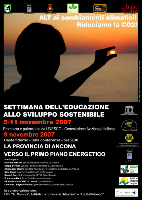 Settimana dell'educazione allo sviluppo sostenibile