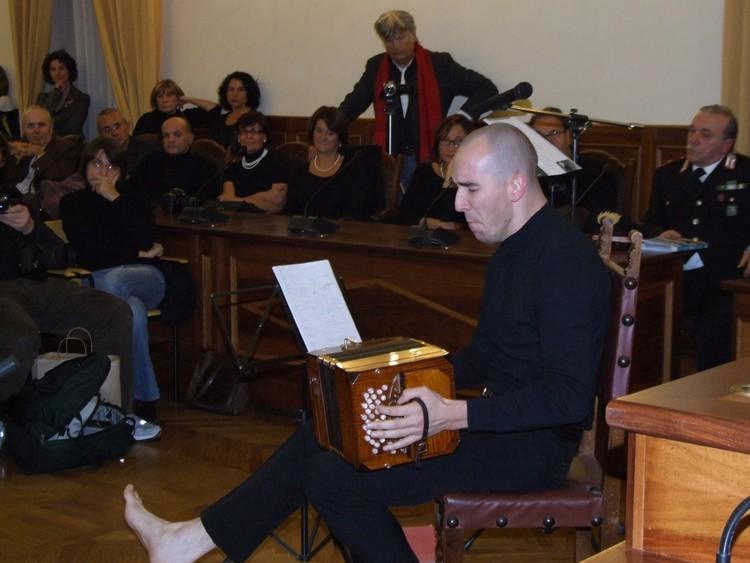 """La storia della fisarmonica a """"Domenica In..."""""""