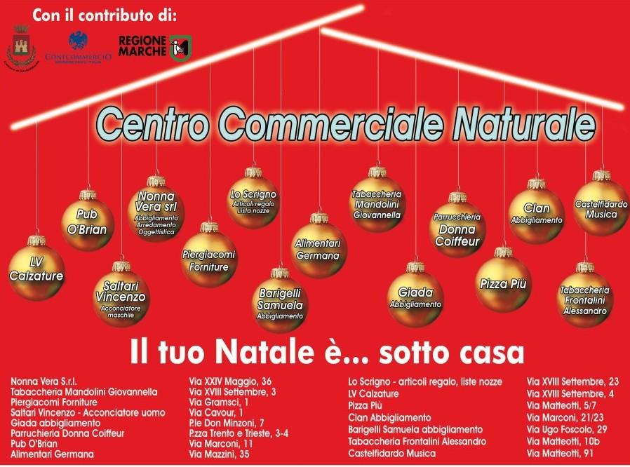 Concluso il progetto del Centro Commerciale Naturale