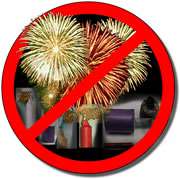 Fuochi d'artificio: campagna di prevenzione e sicurezza
