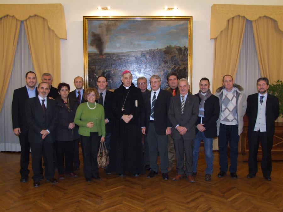 Il Vescovo inizia la visita pastorale in Comune