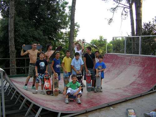 Rampa di skate e murales: largo ai giovani