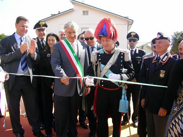 """Ecco la piazza del Carabiniere """"L. Cirenei"""""""
