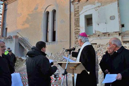 Posta la prima pietra della nuova Chiesa di Crocette