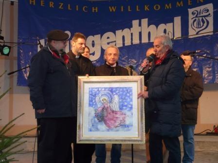 Un Angelo per la chiesa cattolica di Klingenthal