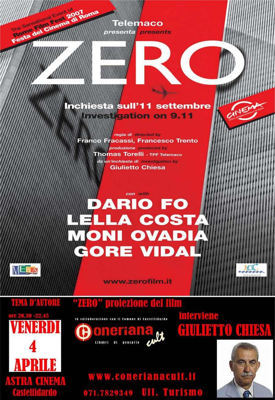 Zero, inchiesta sull'11 settembre