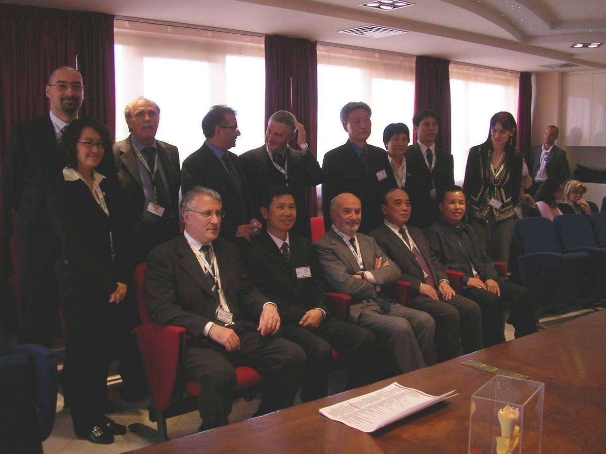 Il Sindaco incontra delegazione cinese alla Somacis