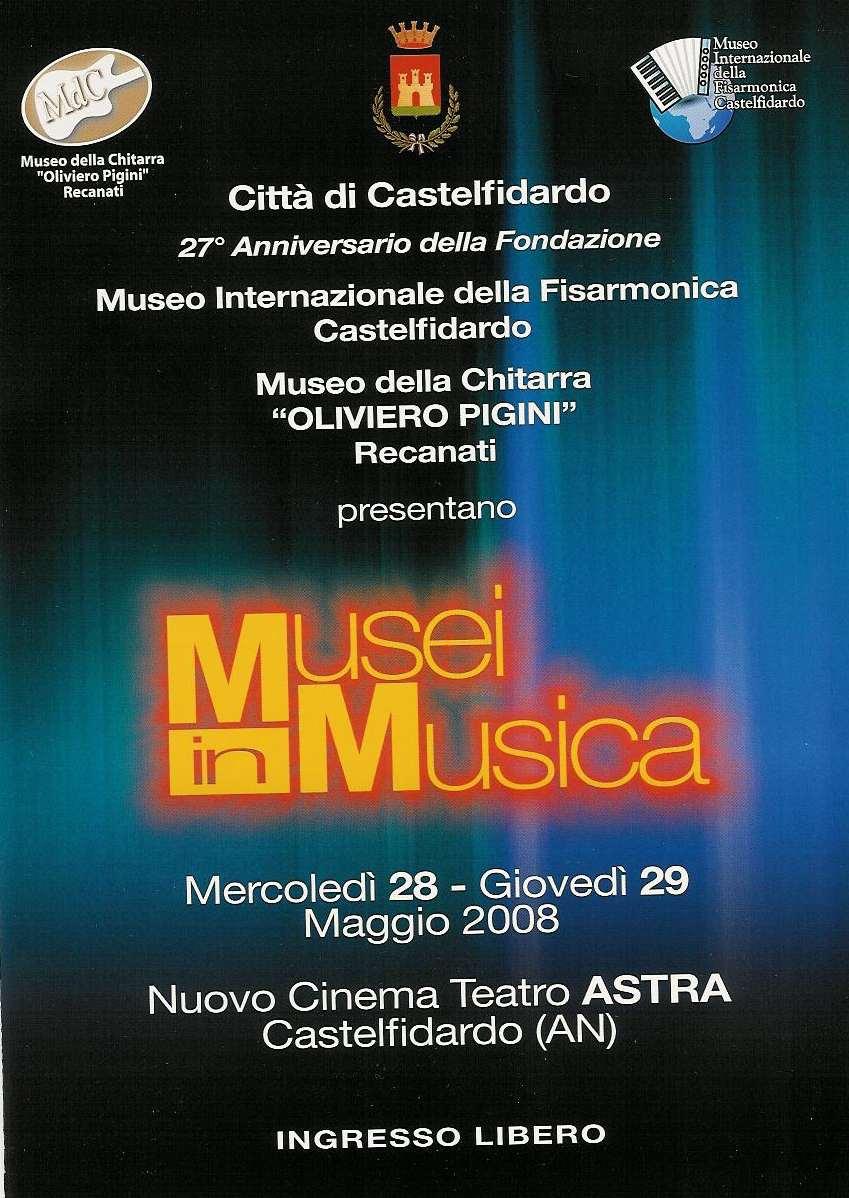 """MuseiinMusica, due """"prime"""" serate con grandi ospiti"""