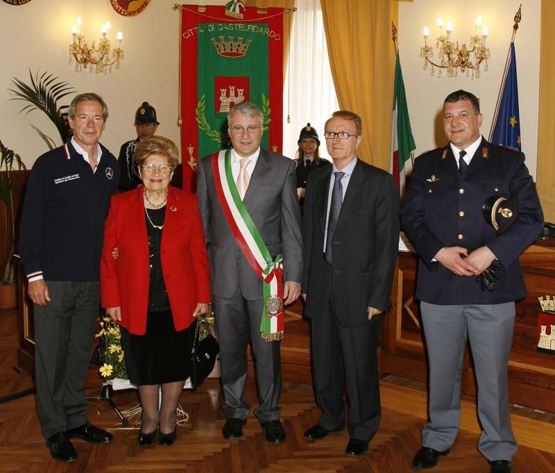 Civiche Benemerenze a Fernando Garofoli e all'Unitre