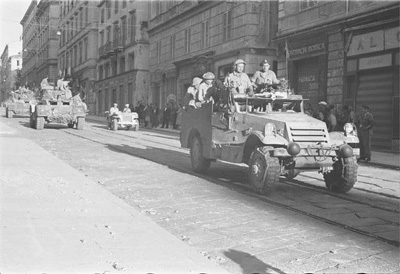 64° anniversario della liberazione di Castelfidardo