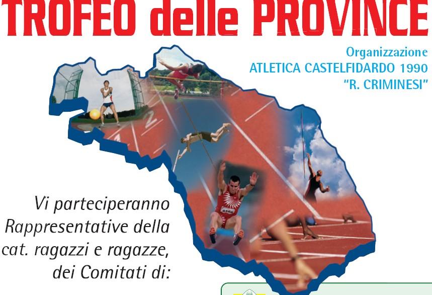 Domenica il Trofeo delle Province di atletica