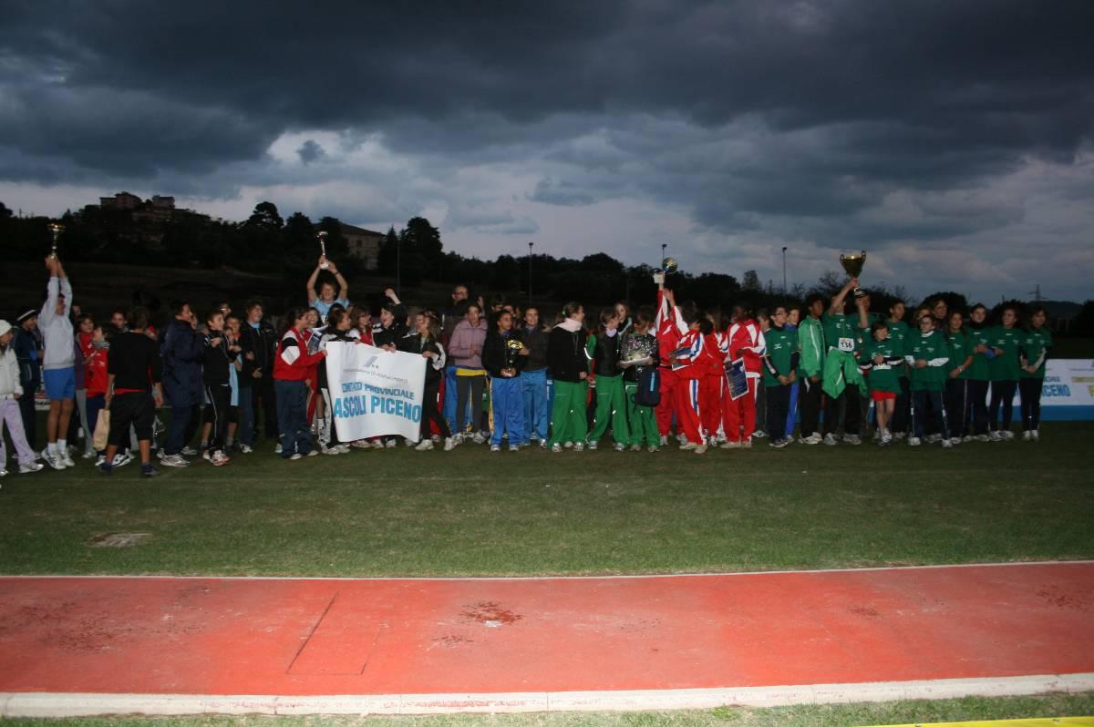 Trofeo delle Province di atletica, una festa
