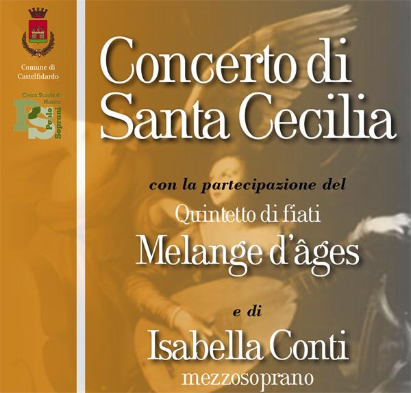 Concerto di Santa Cecilia alla Chiesa di San Benedetto