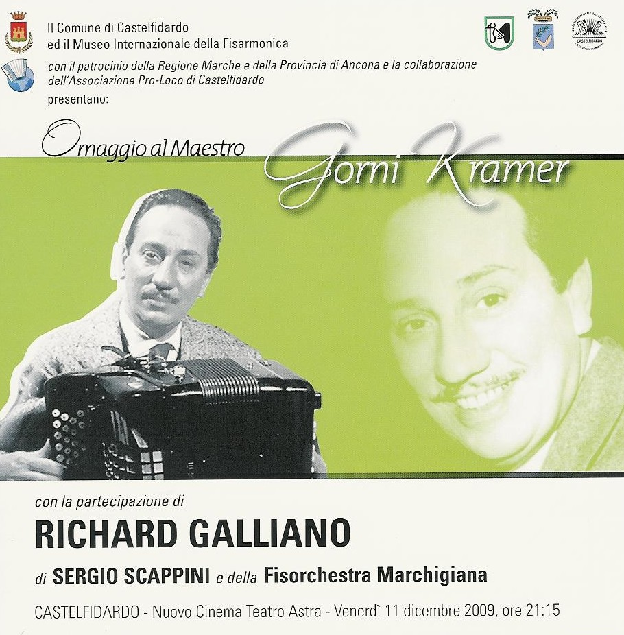 Tributo a Kramer e onorificenza a Galliano