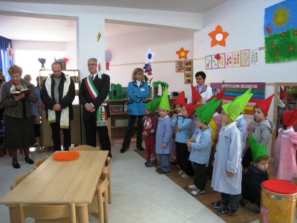 Materna Sant'Agostino, inaugurata la VII sezione