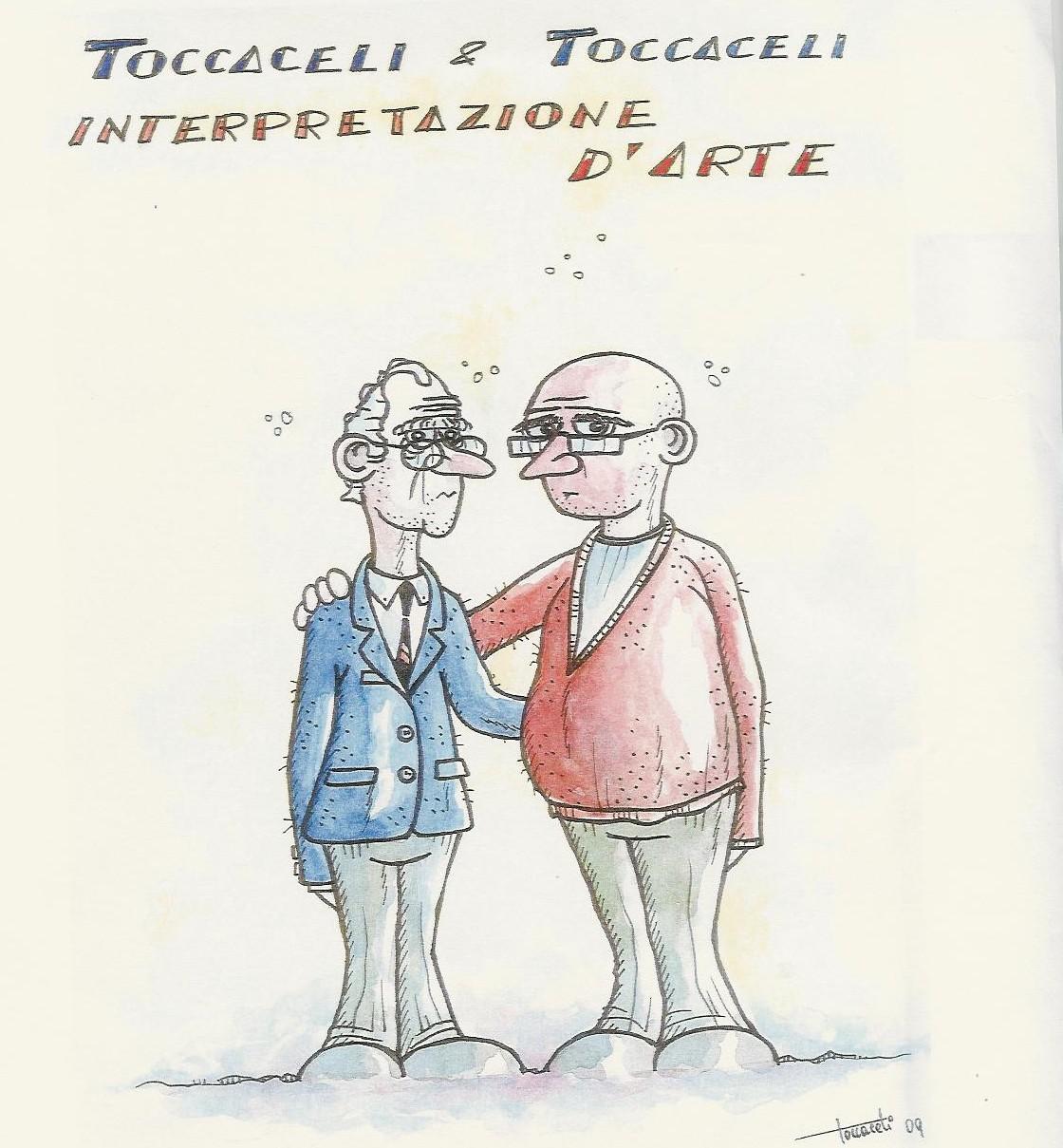 Toccaceli&Toccaceli, interpretazione d'arte