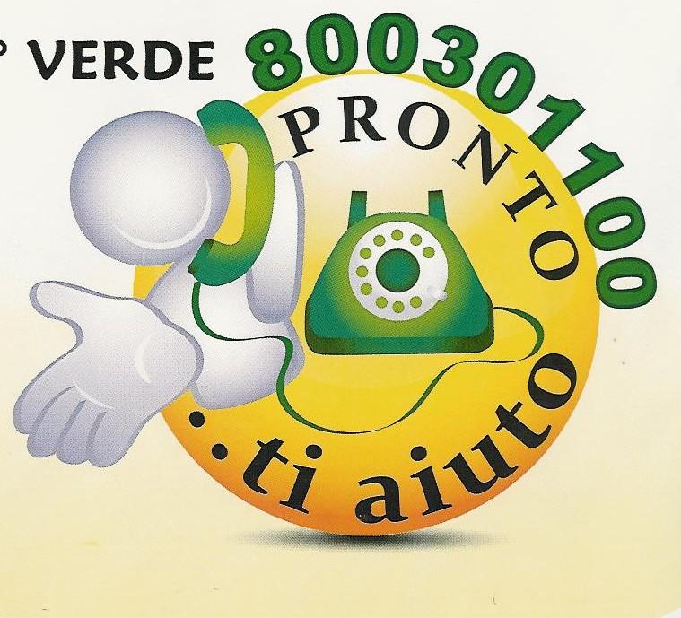 800301100: attivo il numero verde