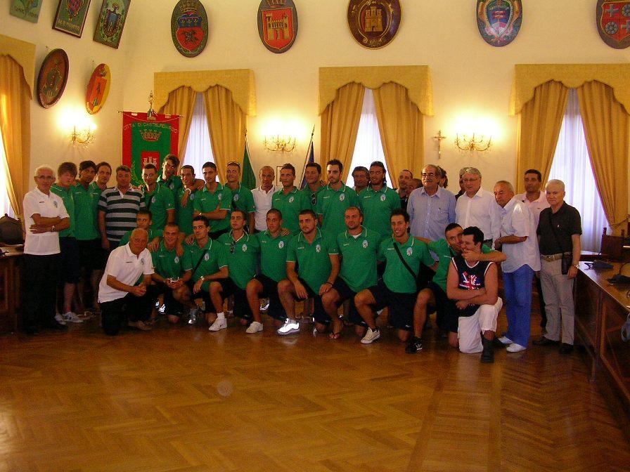 Presentato il Gsd Castelfidardo calcio