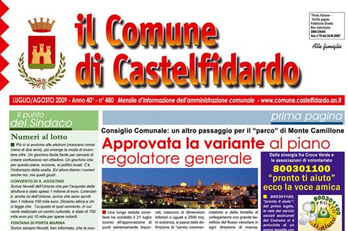 On-line il n. 480 del Mensile d'Informazione Comunale