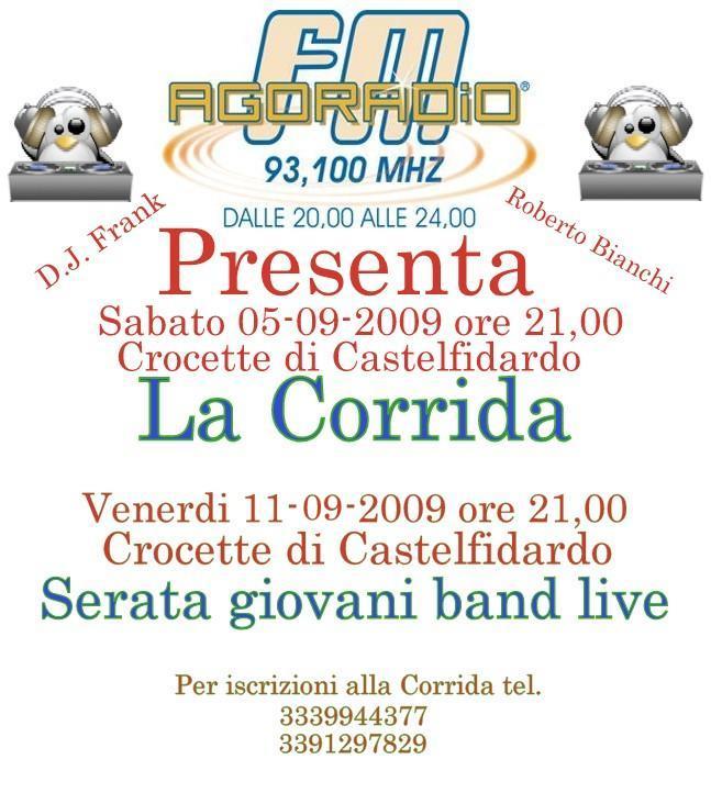 Crocette: iscrizioni a Corrida e festival giovani
