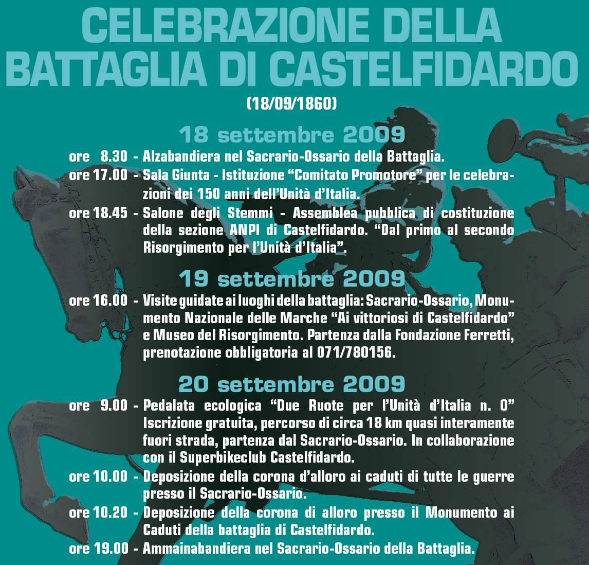 Celebrazione della Battaglia di Castelfidardo