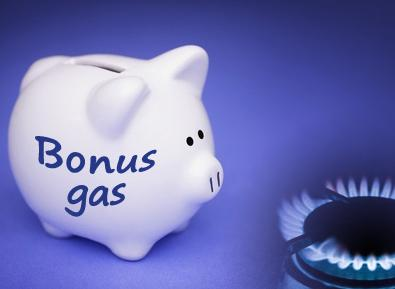 Bonus gas, domande entro il 30 aprile