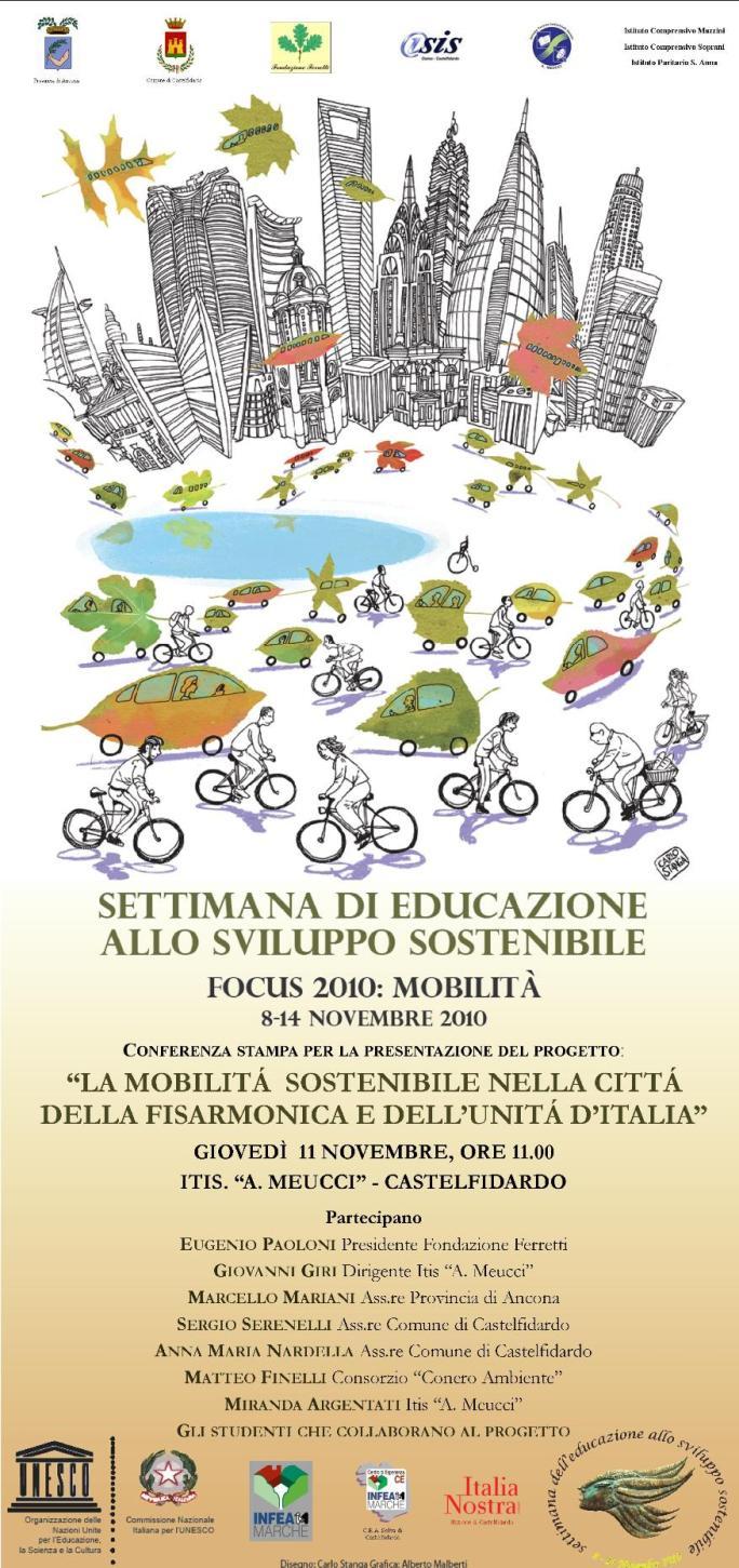 """Settimana """"Unesco"""", un progetto per la mobilità"""