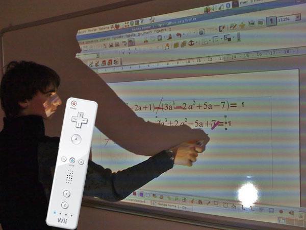 L'Itis Meucci presenta la lavagna multimediale Wii