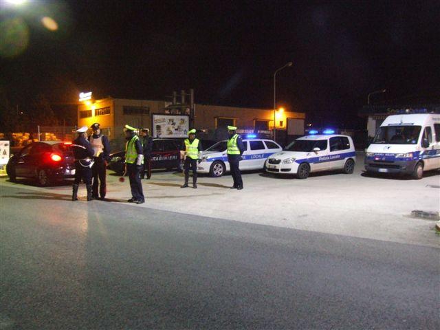 """Polizia Locale, i """"controlli"""" del sabato sera"""