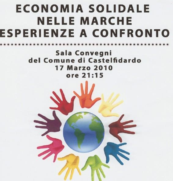 """""""Economia solidale: Marche a confronto"""""""