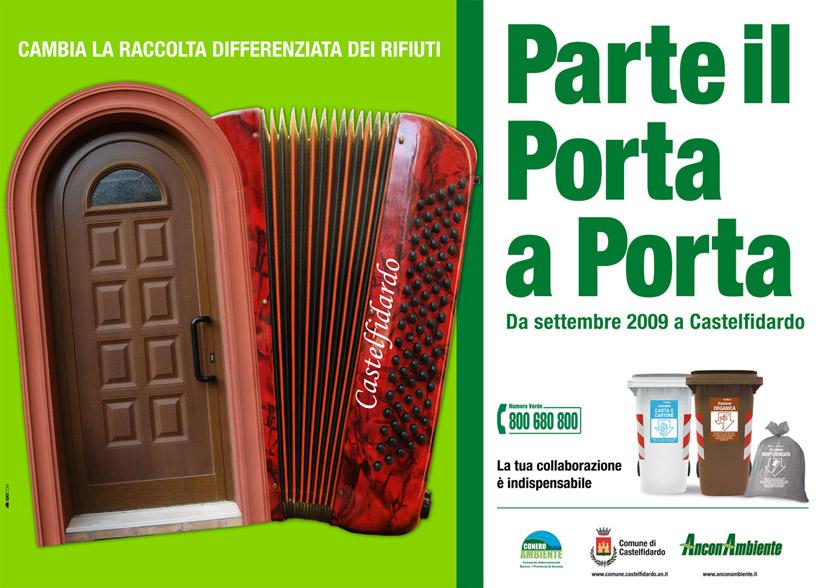 """""""Porta a Porta"""" operativo anche nel centro storico"""