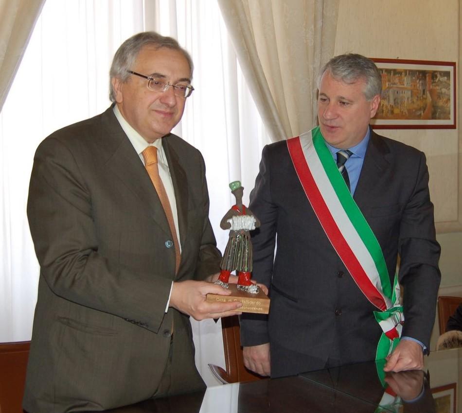 Visita ufficiale del Prefetto Claudio Meoli
