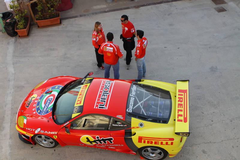 Leo Isolani conquista il gruppo GT alla Coppa Nissena