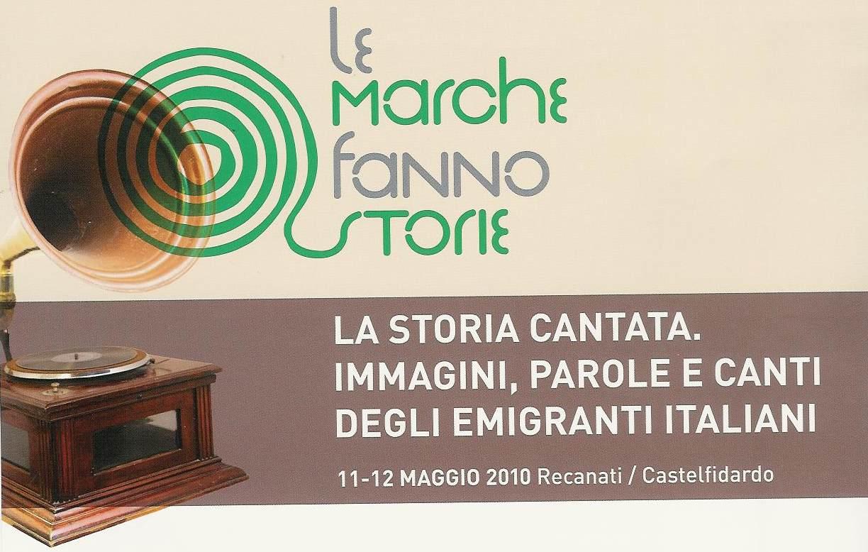 Immagini, parole e canti degli emigranti italiani