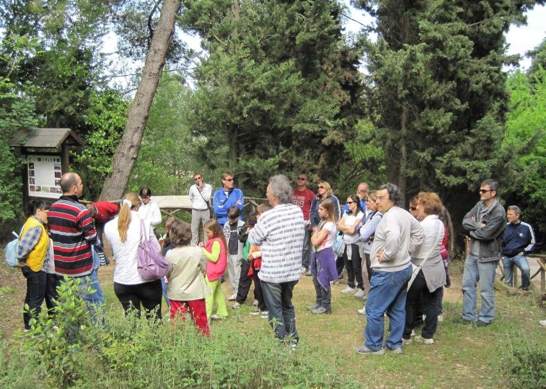 Tour gratuiti alla Selva, boom di visitatori