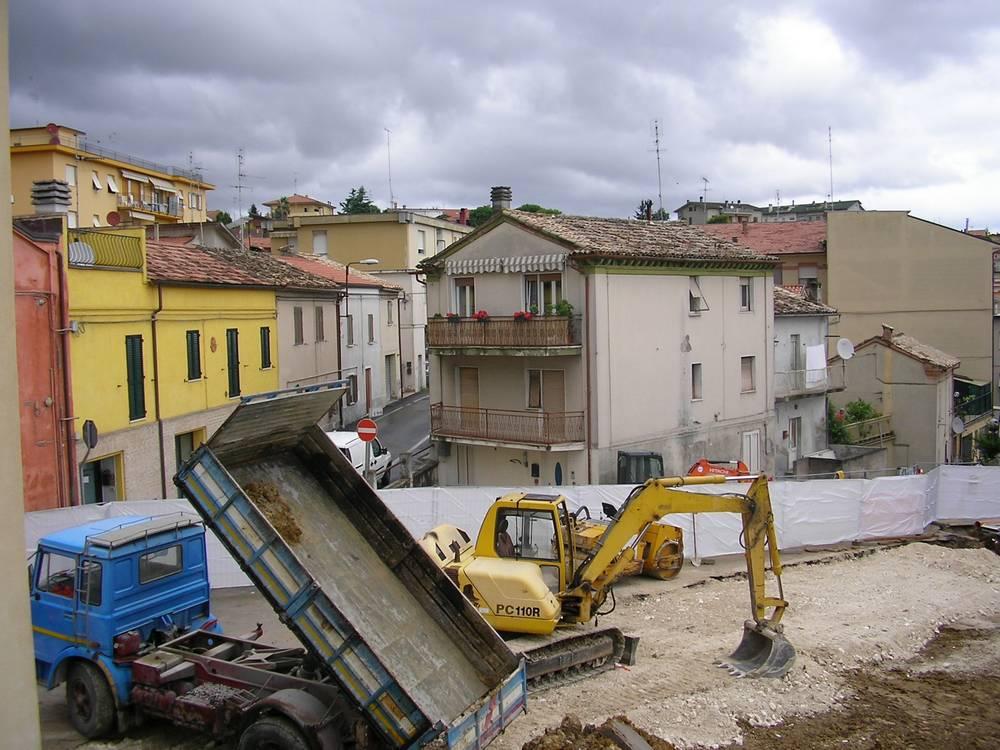 """""""Strettoia"""" Fornaci, lavori in corso"""